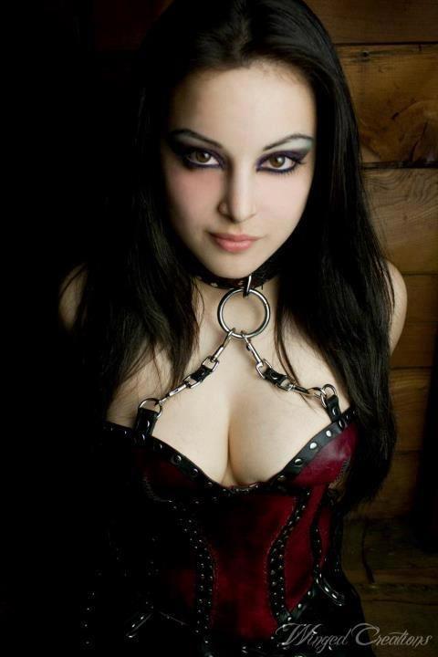 Goth bondage bdsm