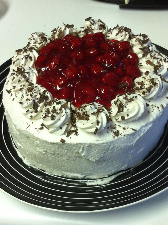 Black Forest Birthday Cake from Laidback Cakes