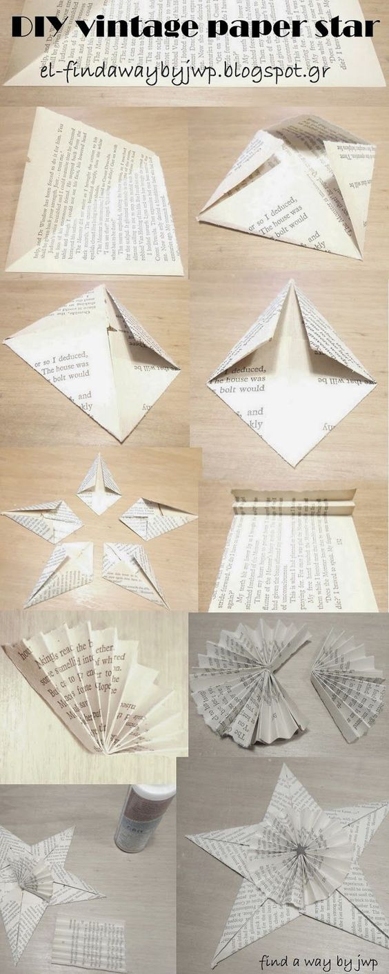 origami star ornament instructions