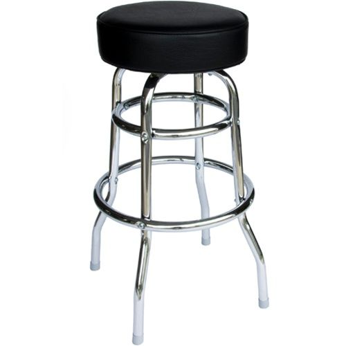Tractor Seats Classrooms : Bfm seating galena double ring chrome backless restaurant