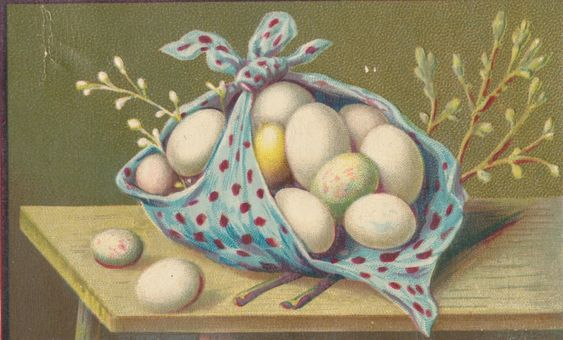 Clearly Vintage: easter: