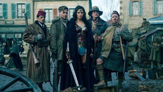Wonder Woman- Aliados-Steve Trevor