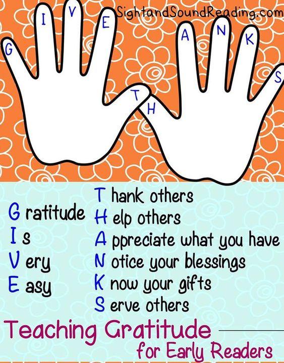 Gratitude Worksheets For Kids Teach Children Gratitude