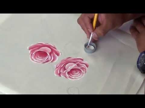 Youtube and pintura on pinterest - Como pintar sobre tela ...