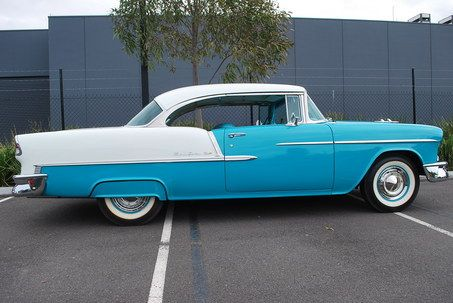 1955 CHEVROLET BEL AIR  $85000 I don't think so