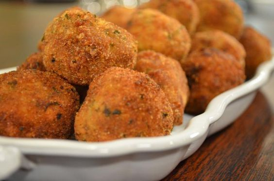 Recipe: Sunny Anderson's Fried Stuffing Bites