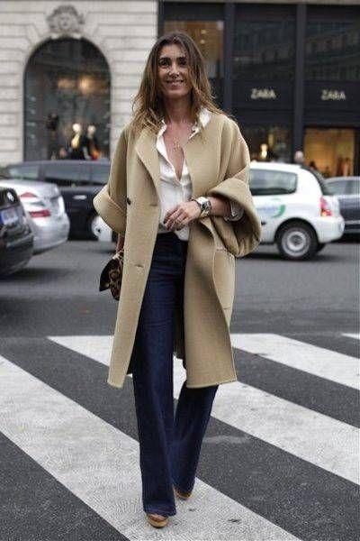 Как и с чем носить пальто нейтрального бежевого цвета — персональный стилист Лена Липман
