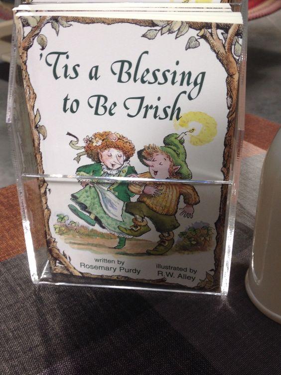 Irish elf book with sayings etc