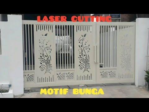 MODEL PAGAR MINIMALIS TERBARU 16 | MOTIF BUNGA - YouTube Di 2020 | Pagar,  Minimalis, Bunga