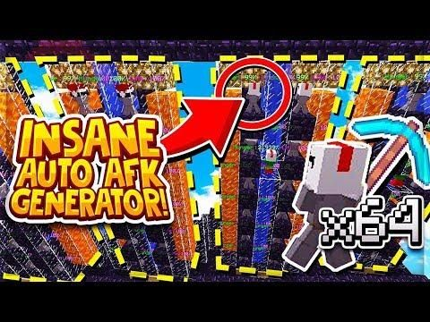The Best Auto Afk Cobblestone Generator New Minecraft Skyblock