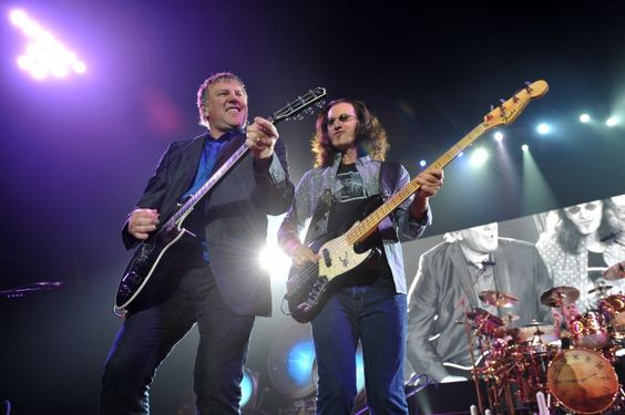 Rushs Alex Lifeson And Geddy Lee | GRAMMY.com