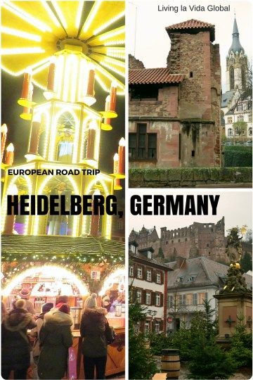 Heidelberg seems to have it all, a riverside location, lovely old buildings, schnitzel, and even a ruined castle looming over the city and five little Christmas Markets at the end of the year. What's not to like?