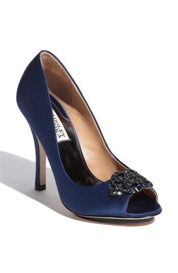 """Wedding shoes?  nordstrom.com, Badgley Mischka """"Susan"""" pump"""