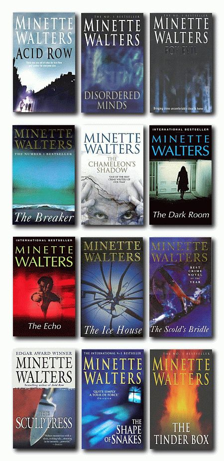 "Minette Walters is a great crime writer. Our learners enjoy ""Chicken Feed"" fromt eh Quick Reads series."