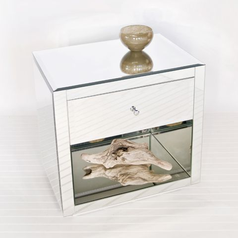 MBW Furniture - Mirrored Nightstand Side Table, $1,063.00 (http://www.mbwfurniture.com/mirrored-nightstand-side-table/)