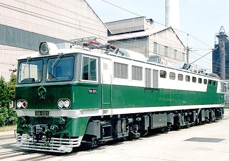 China - Type 6K Electric Locomotive for the People's Republic of China