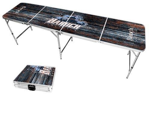 Baruch College Bearcats Weathered Folding Table