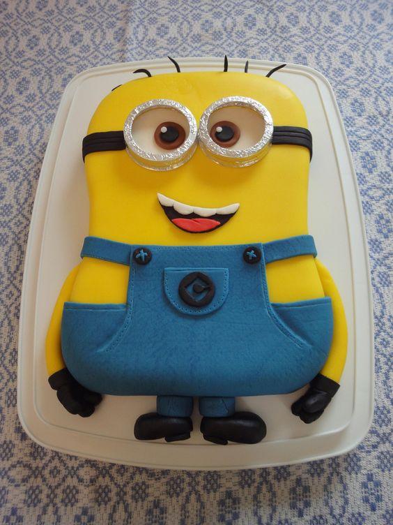 D Minion Cake Step By Step