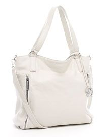 Michael Kors Shoulder Bags - MICHAEL Michael Kors Crossby Large Tote, Vanilla- $84.00 - michael kors outlet, big purses, cute handbags