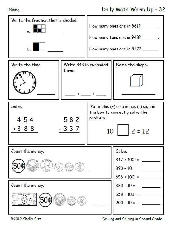 Delighted 2nd Grade Math Free Homework Sheets Smiling And Shining In ...