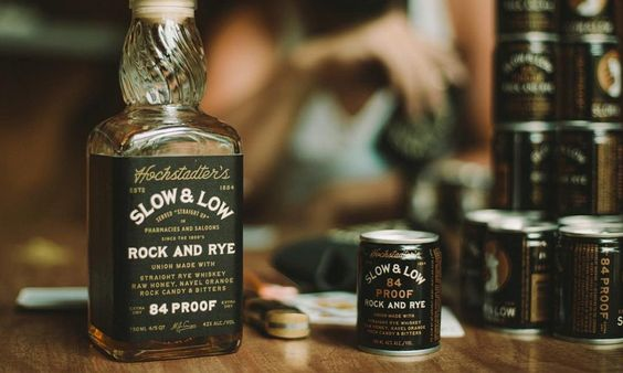 Slow & Low Rye Cocktail in a Can