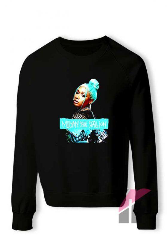 Phauagt Megan Thee Stallion Sweatshirt Teesflow Com Sweatshirts Shop Sweatshirts Print Clothes