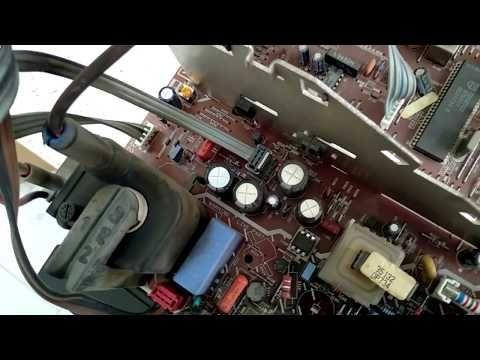 Philips Crt Tv Repair Common Failure In 2021 Crt Tv Repair Crt