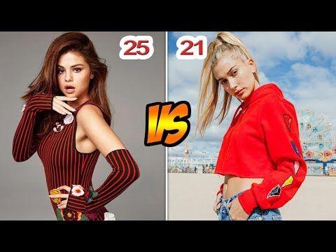 Selena Gomez Vs Hailey Baldwin Transformation From 1 To 25 Years Old Youtube Hailey Baldwin Michael Jackson Daughter Michael Jackson S Son