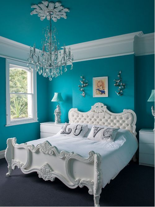 Best Turquoise Room Ideas for Inspiration Modern Interior ...