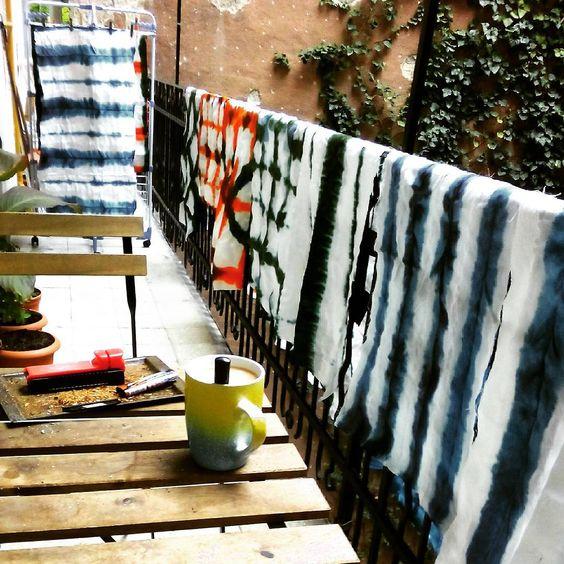 #shibori #batique #texture #textiledesign #textile #bag #painting #paint #designer #design #raventailor #craft #summer #summertime #colorful #color #hot #artproject  #art #artproduction #process #technique #budapest