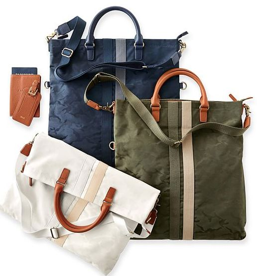 perfect foldover travel totes