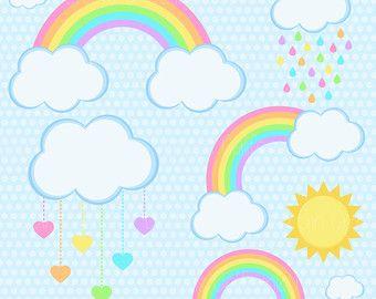 Image result for polka dot cloud clipart