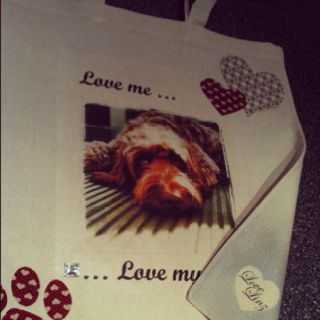 'Love me ...Love my dog' bag: Homemade Creations, My Favourite Things, Love My Dog