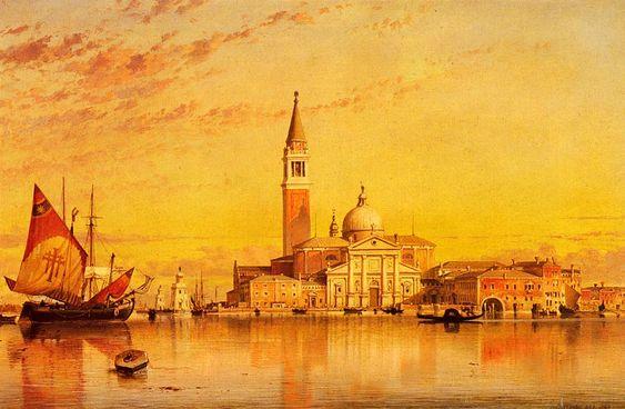 San Giorgio Maggiore Venice, Edward William Cooke, 1857,