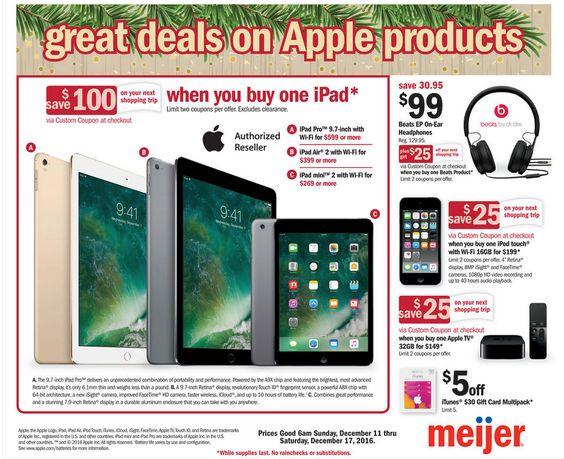 Meijer General Mercandise Ad December 11 - 17, 2016 - http://www.olcatalog.com/grocery/meijer-ads.html
