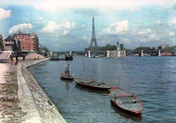 Paris of 1936 in Color