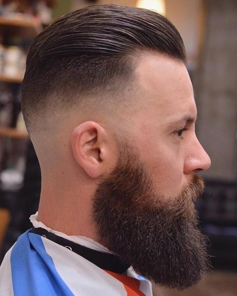 Best men hairstyles: Slicked Back Undercut