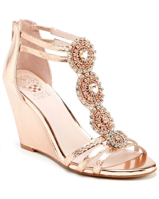 wedges for a formal dress for the shoes