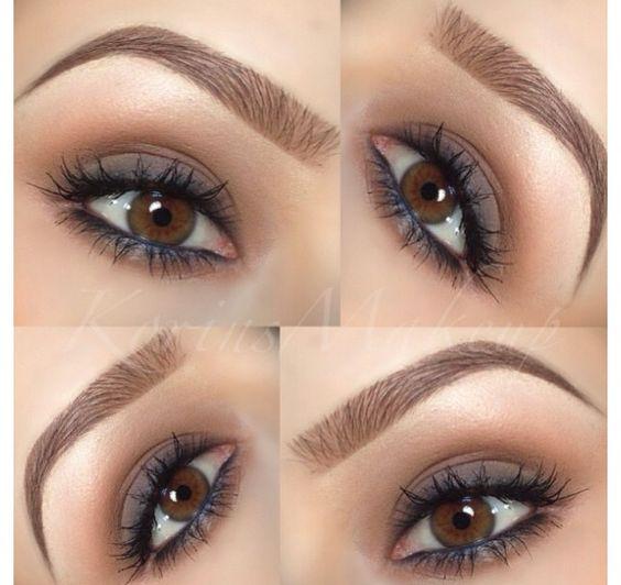 Tutorial de ojos tonos marrones para diario