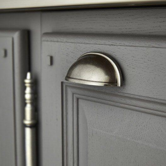 poign e de meuble en acier mat cup entraxe 64 mm tips pinterest tasses et ps. Black Bedroom Furniture Sets. Home Design Ideas