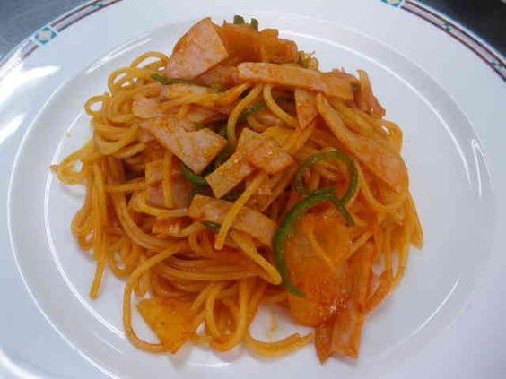 ソースがかくし味・スパゲティナポリタンの画像