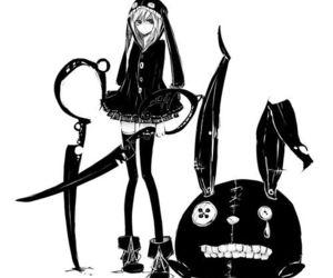 Resultado de imagen de anime creepy girl scissors