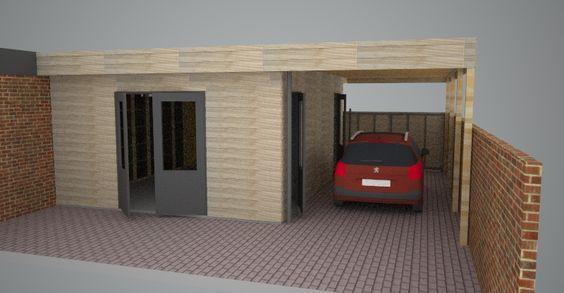 ontwerp werkplaats / carpoort: project 1