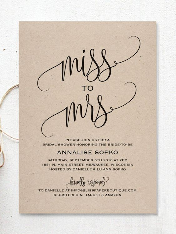 17 Printable Bridal Shower Invitations You Can Diy In 2021 Bridal Shower Invitations Diy Bridal Shower Invitations Printable Bridal Shower Invitations Free