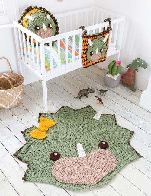 Bring Kids Bedroom Decor To Life With This Collection Of Seven Sensational Crochet Animal Rug De Tapete De Trico Tapete De Croche Infantil Decoracao De Croche