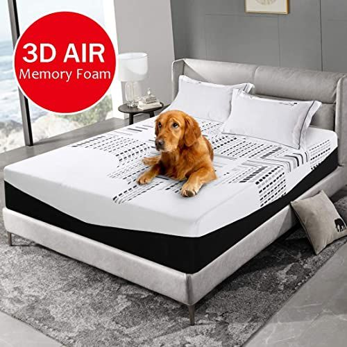 Beautiful Emonia King Mattress 12 Inch Memory Foam Bed Mattress With Mattress Cover Removable Hypoallergenic And Soft In 2020 Foam Mattress Bed Bed Mattress Foam Bed
