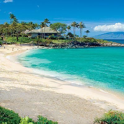 Kapalua Beach    MAUI, HAWAII
