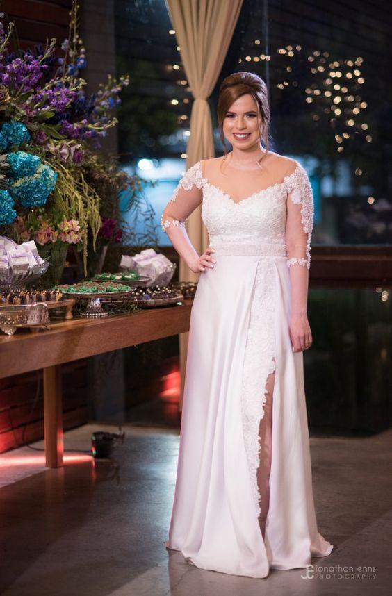 Noiva. Vestido de No
