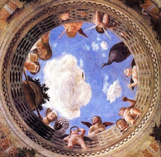 Andrea mantegna camera degli sposi fresco 1465 1474 for Mantegna camera degli sposi palazzo ducale