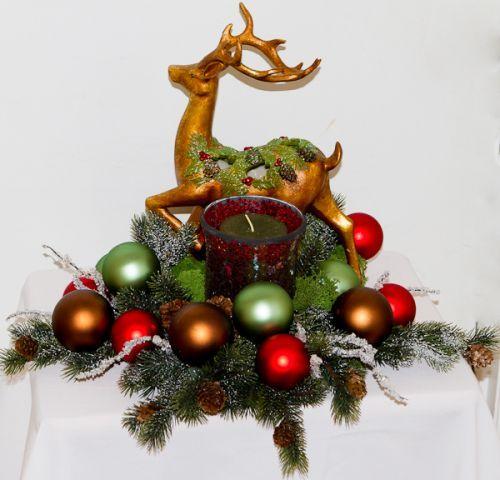 Mantel Christmas Arrangements
